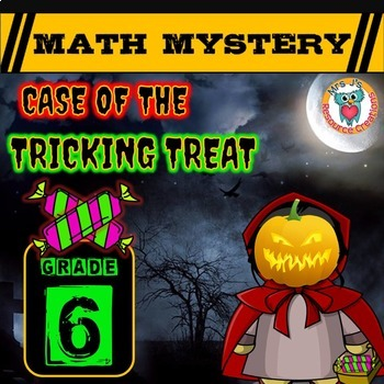 Halloween Math Activity: Math Mystery -- Case of The Trick