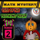 Halloween Math Activity: (Math Mystery GRADE 2)