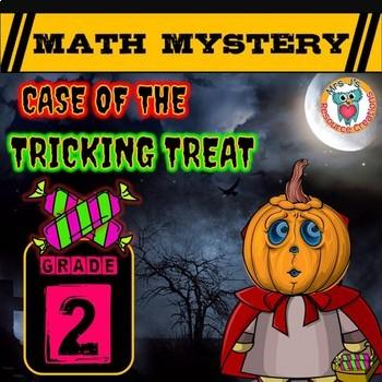 Halloween Math Activity: (Math Mystery GRADE 2)