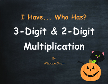 Halloween Math: 3-Digit and 2-Digit Multiplication - I Hav