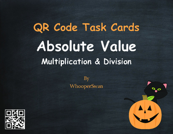 Halloween Math: Absolute Value - Multiplication & Division