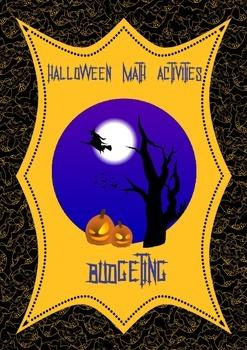 Halloween Math Activities: Budgeting Activity (3rd 4th)