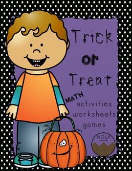Halloween Math Activity Packet