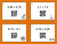 Halloween Math: Adding Decimals QR Code Task Cards