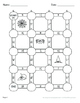 Halloween Math: Adding Like Fractions Maze