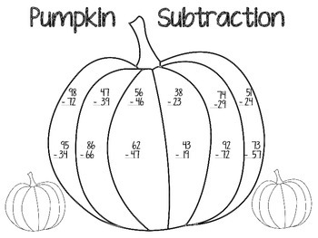 Halloween Math- Addition and Subtraction