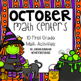 October / Halloween Math Centers