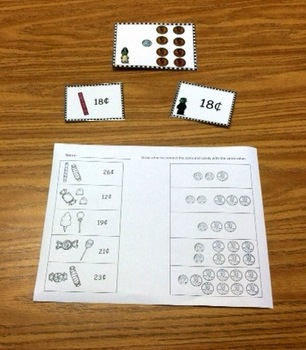 Halloween Math Centers (addition, place value to 30, and c