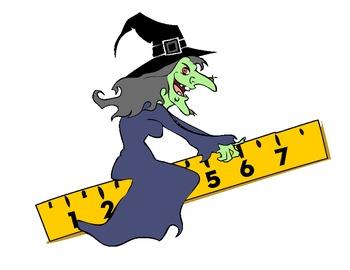 Halloween Math Clipart