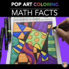 Halloween Math Coloring Sheets - Great Halloween Activity