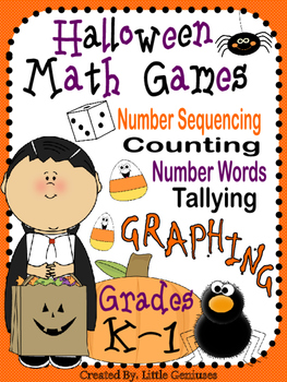 Halloween Math For Kindergarten and Grade One