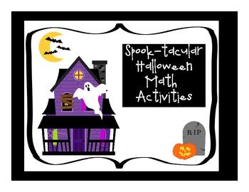 Spook-tacular Halloween Math Fun
