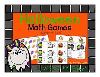 Halloween Math Games