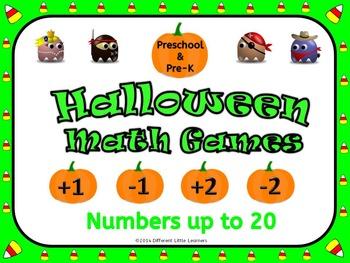 Halloween Math PK-K