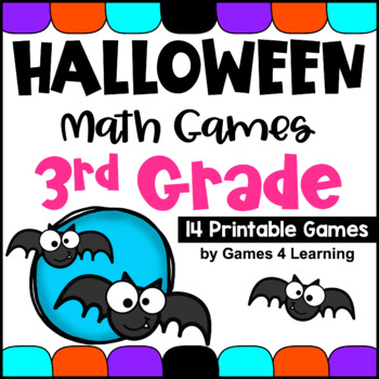 Halloween Math Games Third Grade: Fun Halloween Activities