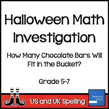 Halloween Math Investigation with Volume, Capacity and Length
