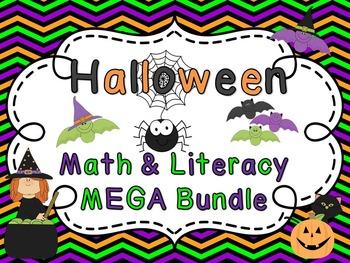 Halloween Activities Math and Literacy MEGA Bundle