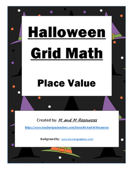 Halloween Math Mystery Picture- Place Value