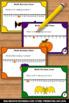 Halloween Math Task Cards for Center Games & Activities ~
