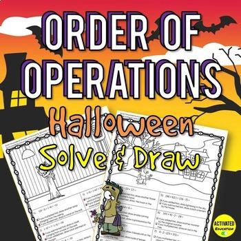 Halloween Math: Order of Operations