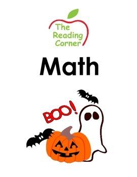 Halloween Math Package
