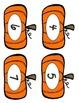 Halloween Math: Pumpkin 5 Frames & 10 Frames