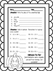 Halloween Math Practice Worksheets and Review 3rd 4th grad