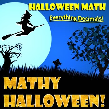 Halloween Math Review - Everything Decimals!