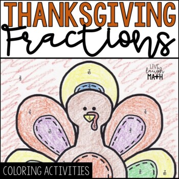 Thanksgiving Math: Fractions Color by Number