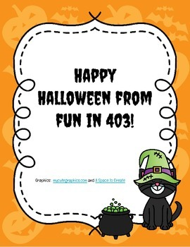 Halloween Math and Reading