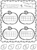 Halloween Math in Kindergarten * Counting * Patterns * Gra