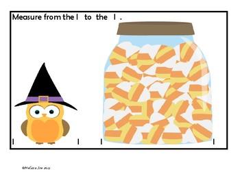 Halloween Measuring Cards Plus Pumpkin Ordering Numbers