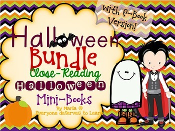 Halloween Mini Book Bundle