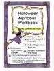 Halloween Alphabet  and Numbers Handwriting Workbook