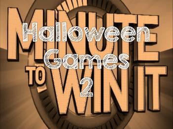 "Halloween ""Minute to Win It"" 2"