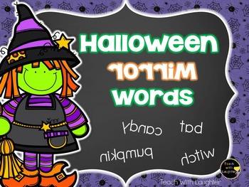 Halloween Mirror Words