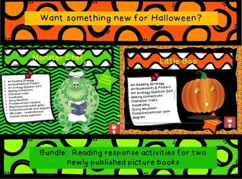Halloween Bundle: Monster Chef and Little Boo - for a not-