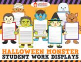 Halloween Activity - Writing Craftivity