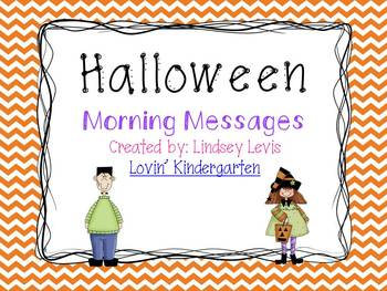 Halloween - Morning Messages