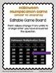 Halloween Multiplication & Long Division BUNDLE (Worksheet