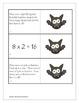 Halloween Multiplication Match Game