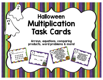 Halloween Multiplication