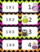 Halloween Multiplication facts (0-3)  Concentration & War