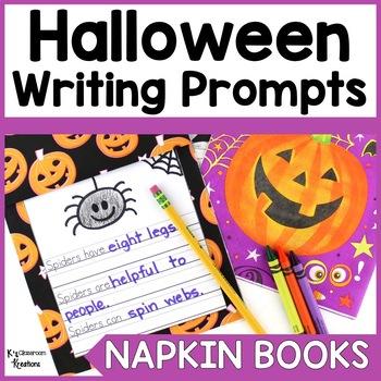 Halloween Napkin Book Writing Prompts