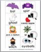 Nouns and Verbs Sort - Halloween Theme - Autumn Activity -