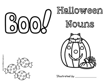 Halloween Nouns Book