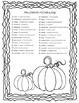 Nouns and Verbs Halloween Activities