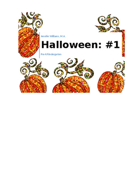 Halloween Number 1 Packet
