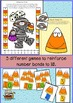 Halloween Number Bonds Activities