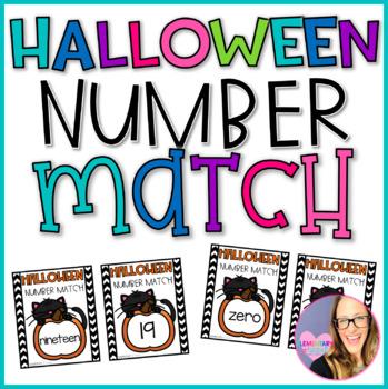 Halloween Number Match